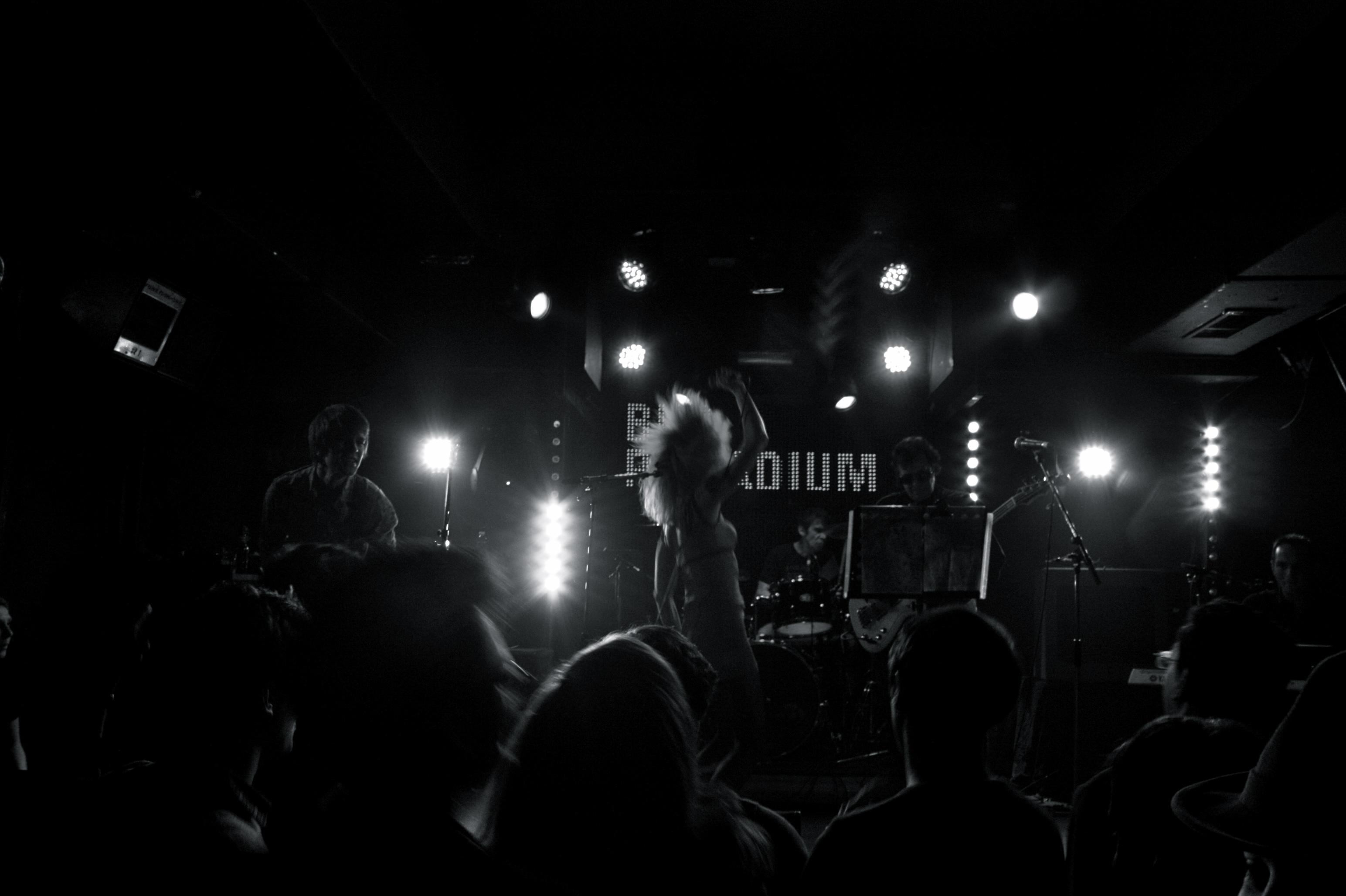 Frigide Barjot perform