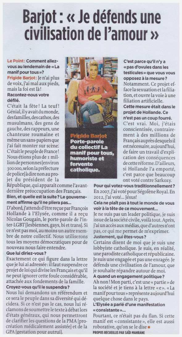 Le Point - 17 janvier 2013